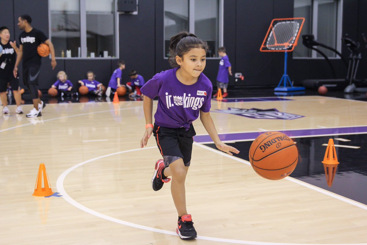 Day two of the Jr. Kings All-Star Camp was jam-packed with fun-DAMENTALS🤗