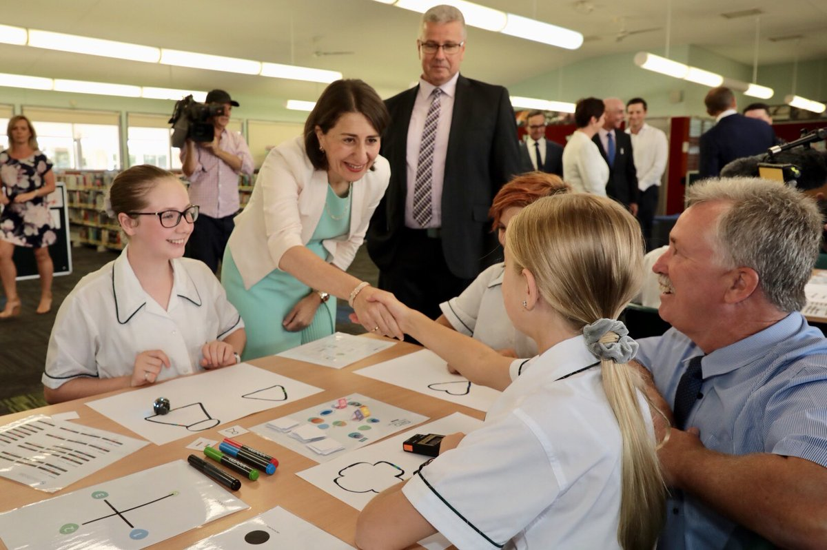 In a first for NSW, every public high school will have two dedicated experts to ensure students have access to vital mental health and well-being support. @RobStokesMP #MtAnnanHighSchool