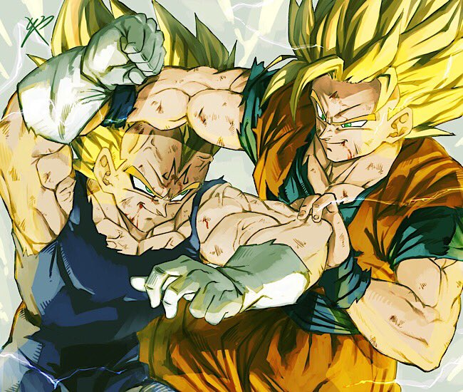 Images découvertes [Fanarts Dragon Ball] - Page 5 DzutcV8UUAAG5iD