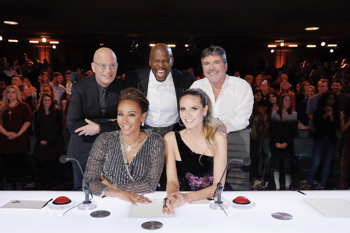 I wanted to say THANK YOU  🙏🏻 ❤️ and how amazing the past 6 years have been while working on @nbcagt … I love my fellow judges, our hosts & AMAZING CREW 😘… It's been such an incredible experience and I will miss ALL OF YOU very much! I will be watching and voting from home!