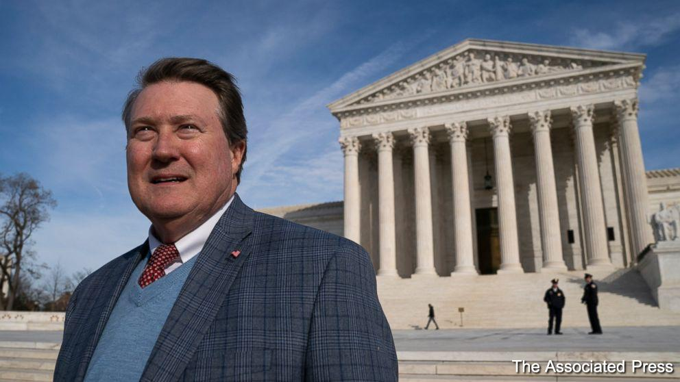 The Supreme Court on Tuesday is taking up a case involving an Alabama man who developed a way to process undeliverable mail.  https://t.co/w0yS8DYzZD