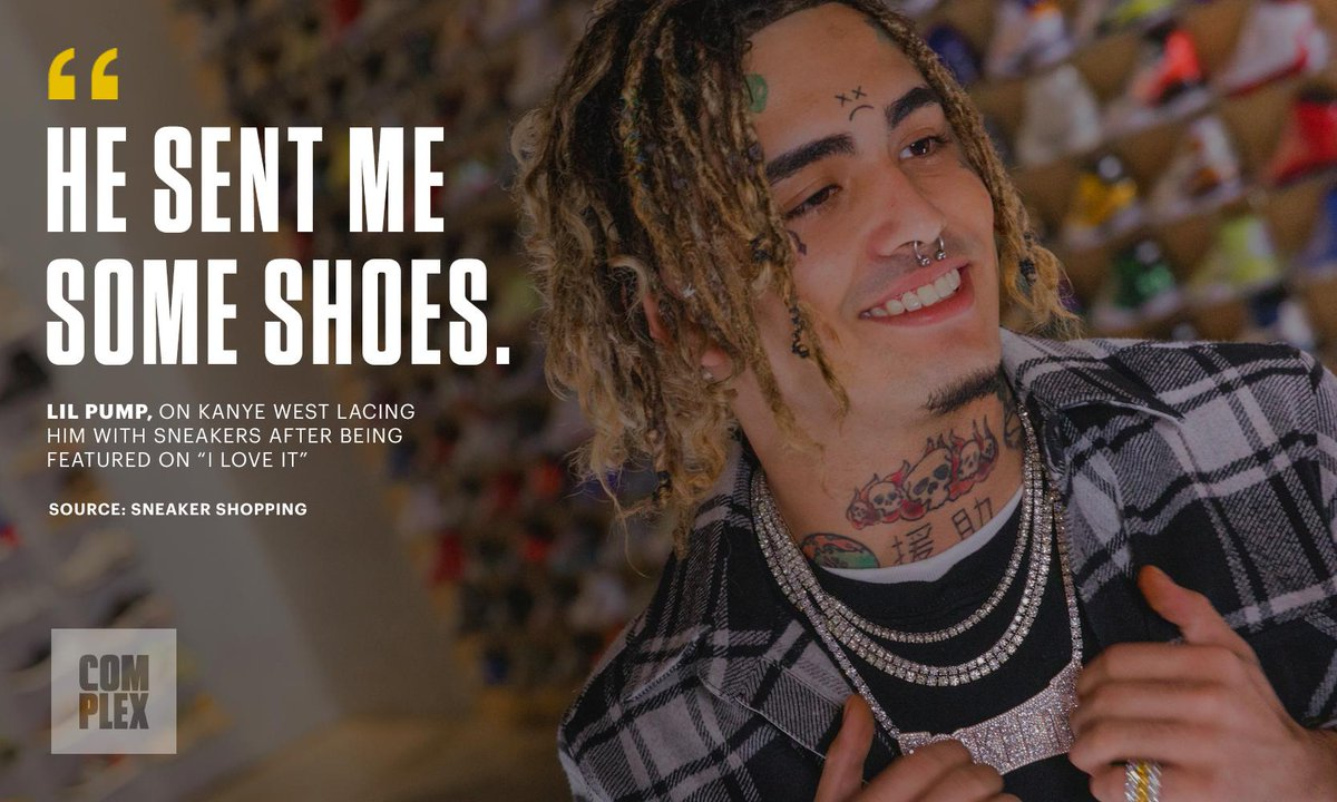 Watch the latest episode of Sneaker Shopping to hear @lilpump tell us about his Yeezy plug: https://t.co/zGAKQwPwgo