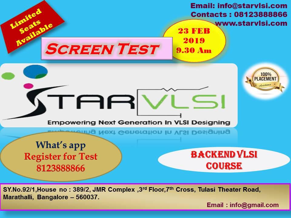 STARVLSI Training Institute (@starvlsi) | Twitter