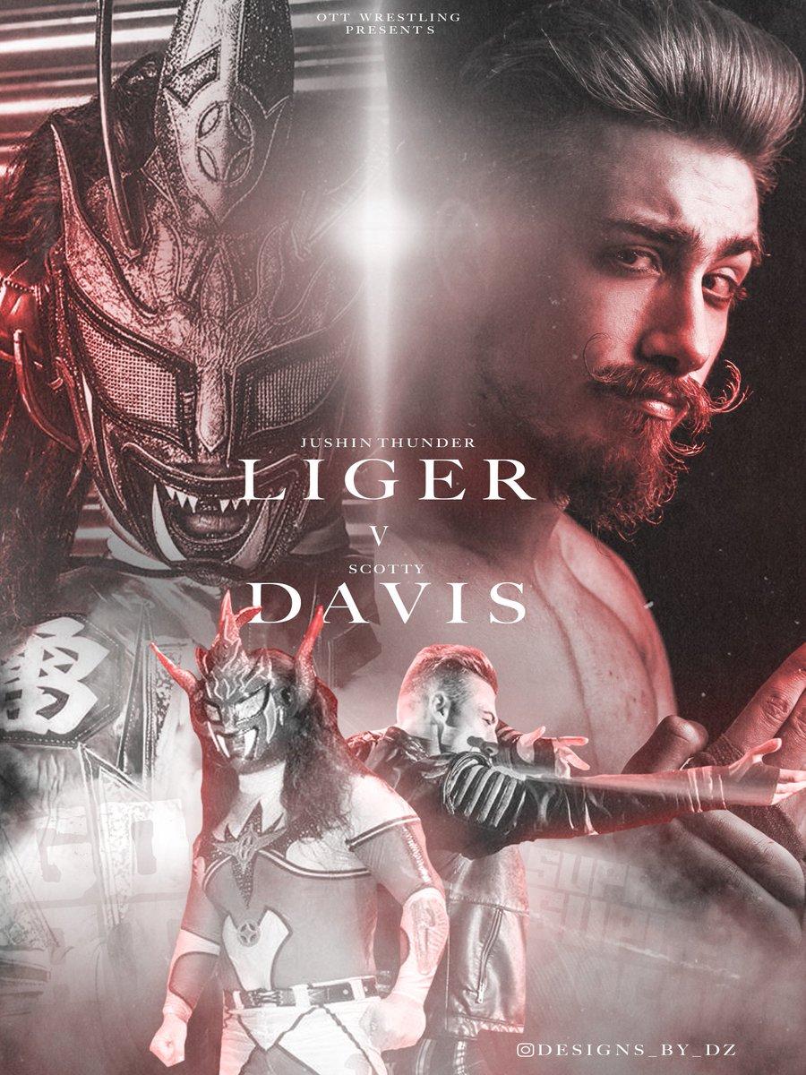 &quot;You&#39;ve got Liger.&quot; - @WillOspreay   MARCH 16th  @Liger_NJPW v @SupremeScottyD   The GOAT v The Supreme Suplex Machine   @OTT_wrestling #ScrapperMania<br>http://pic.twitter.com/YZS4JqwFfV