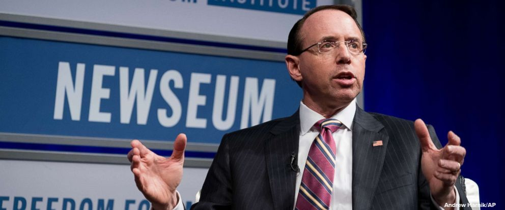 JUST IN: Deputy Attorney General Rod Rosenstein has told colleagues he plans to leave the Justice Department in mid-March, according to a DOJ official familiar with the matter.  https://t.co/keAFk8v8fo