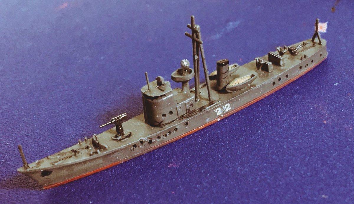 """めめ六 Twitter પર: """"第十三号型駆潜艇第22号です。1940年12月横浜 ..."""