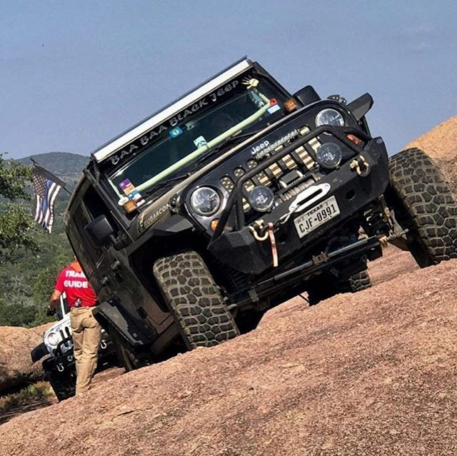 #puckerup When you can feel the jeep start to lean a little too far. Good times from Jeep Jamboree in Llano Texas.  Photo by @bigironjeep  #bfgtires #jjusa #jeep<br>http://pic.twitter.com/cuNE9mW8oR