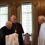 """Image for the Tweet beginning: """"And then Francis told me,"""