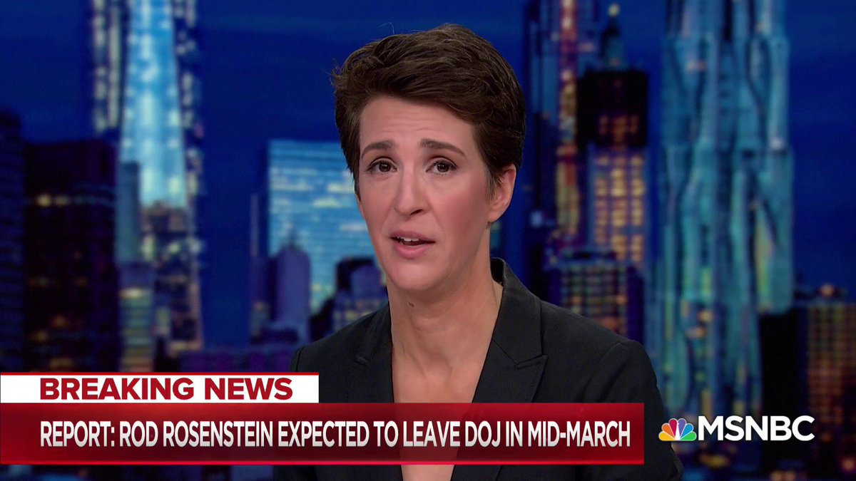 Reports: Rod Rosenstein expected to leave DOJ in mid-March