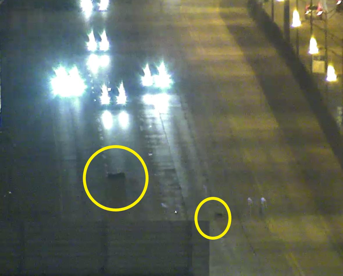 DeKalb Co.: Debris on I-20/wb (Inner Loop) at Candler Rd. (Ex. 65) in multiple lanes. Proceed cautiously.  #ATLtraffic