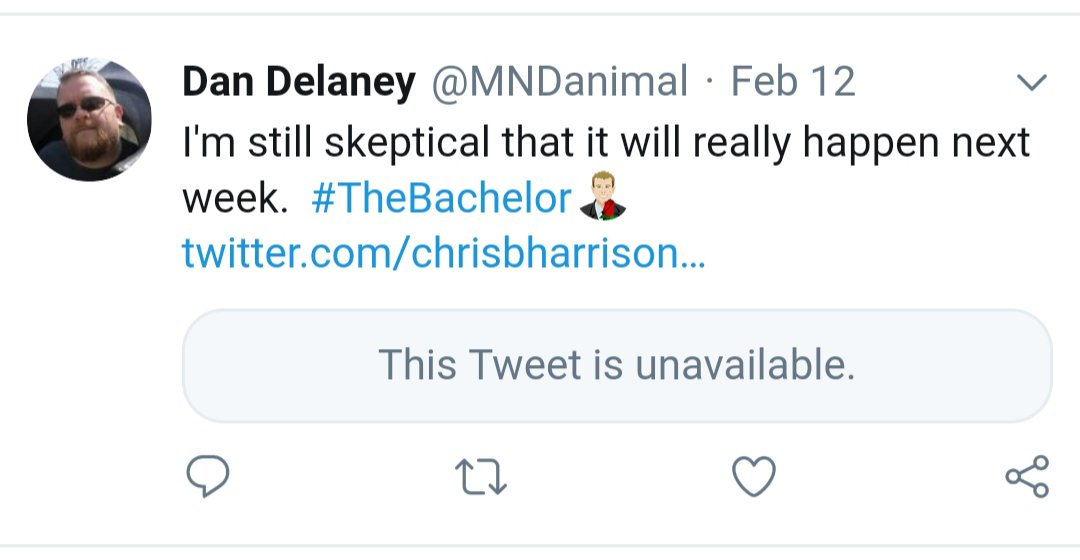 Last week @chrisbharrison tweeted that the fence jump would happen this week. That tweet has since been deleted. #TheBachelor