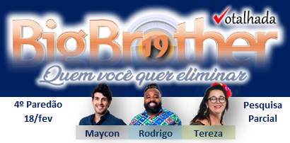 Votalhada #BBB19's photo on Paredão BBB