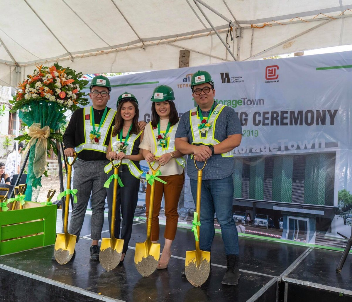 The Cokaliong siblings are setting-up Cebu's first self-storage facility located at Sacris Road, Barangay Cabancalan, Mandaue City. Now, Cebuanos will have a place to store their prized possessions!  (Contributed photo)  via | KOC