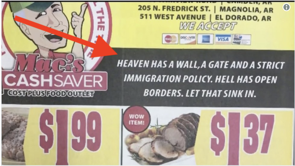 Heaven Has A Wall (Hell Doesn't): Grocery Store Advertisement Stirs Controversy http://ow.ly/WTUx30nKqEJ  #tcot #teaparty #twisters #tcot_talk #ampat #SecureTheBorder #FundTheWall #BuildTheWall #maga #KAG #teamtrump #trump #trumptrain #trump45 #trumparmy #FinishTheWall #mediabais