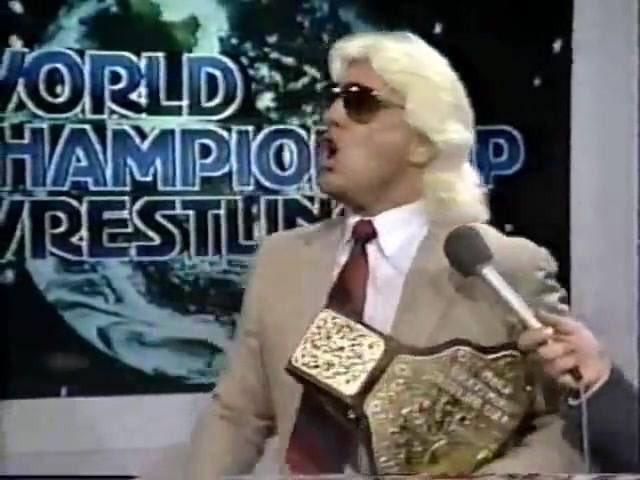 A real champion at his best woooo!!! #16x #wcw #legend @RicFlairNatrBoy 😎👑🙏🏻👊🏻💪🏻👏🏻🙌🏻👌🏻👍🏻