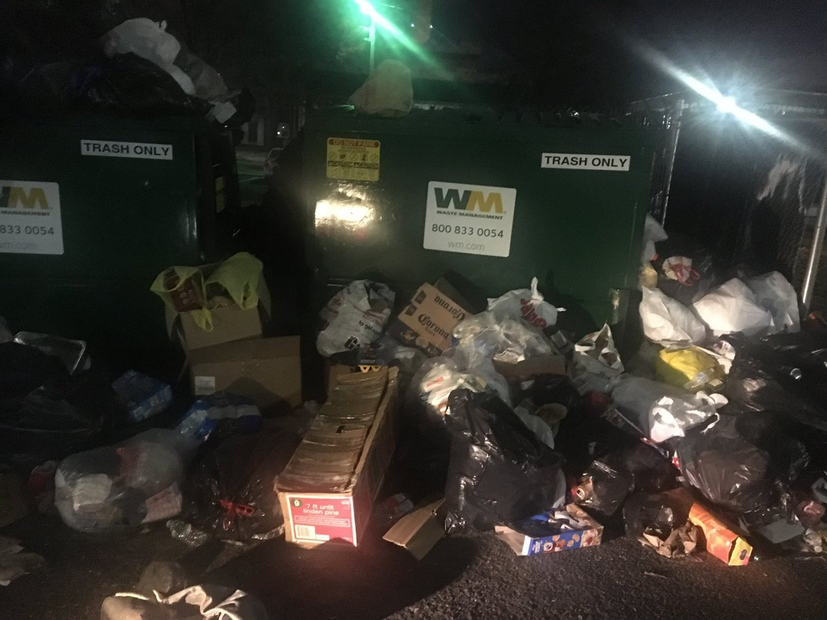 Camden County officials promise to take action after a landlord let dozens of dumpsters overflowing with rotting garbage for weeks.   We're live on ⁦@CBSPhilly⁩ at 11p