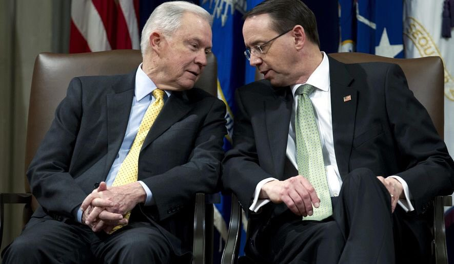 It's a pattern.  They held on to 'Trust Sessions' for over eight months, until he was immediately fired after the election.  They'll hold on to 'Trust Rosenstein' as long as possible until the moment he exits the DOJ (which will be soon).
