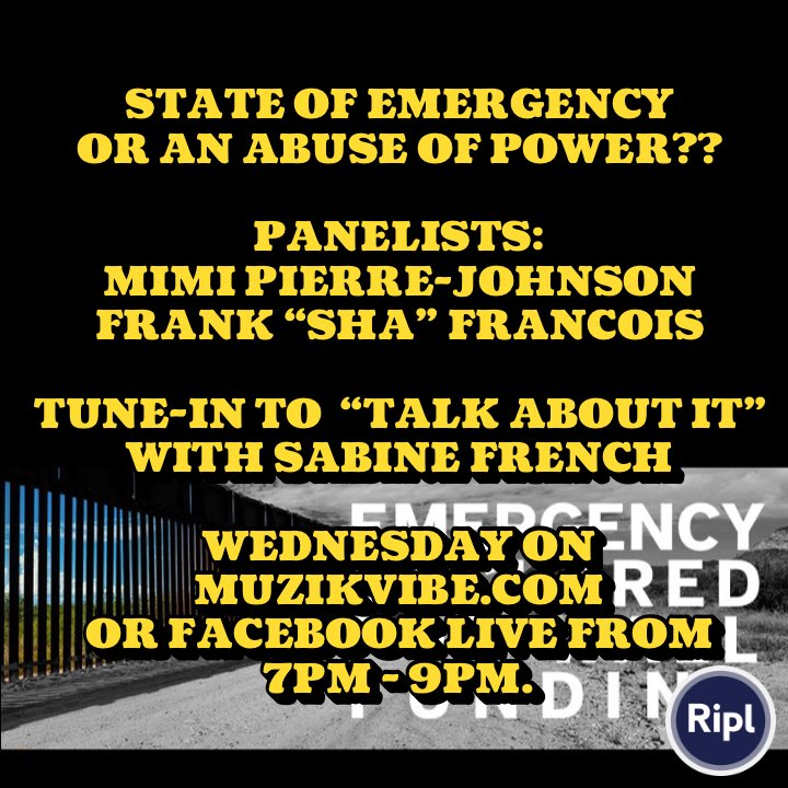 POPULAR TALK SHOW LOCATED IN WEST HEMPSTEAD, LI, NY.   SEEKS ARTICULATE AND COMPOSED PANELIST TO PARTICIPATE ON WEDNESDAY'S 02/20/19 SHOW.  PLEASE CONTACT FOR MORE DETAILS #BuildTheWall #StateOfEmergency #Mexico #trump #LongIsland #Republicans #fundthewall