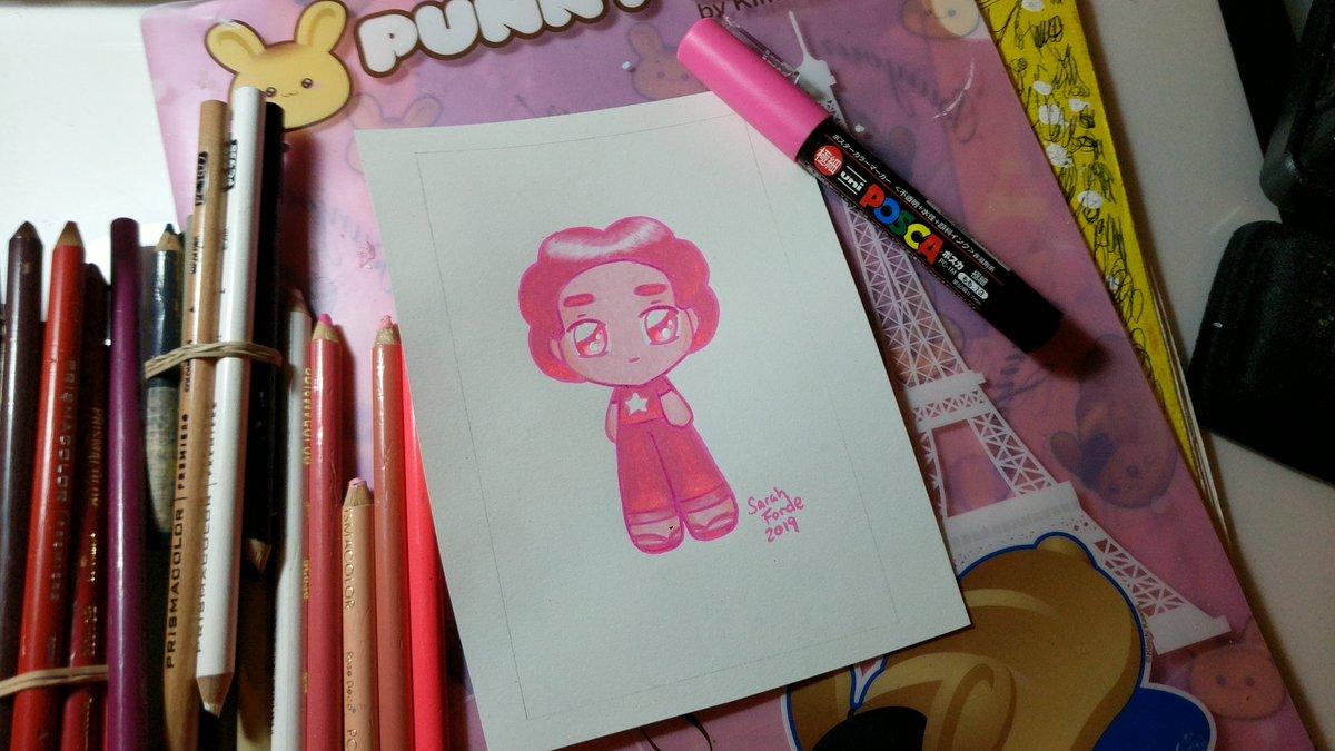 I finished pink Steven tho. #StevenUniverse
