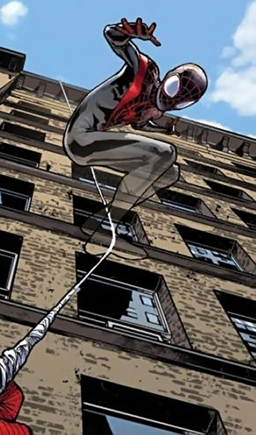 """🕸Miles Morales!🕸 on Twitter: """"One thing I dig with Miles is how is powers  differs from Peter's and other spider people. I certainly like his ability  to turn invisible, just like Scarlet"""