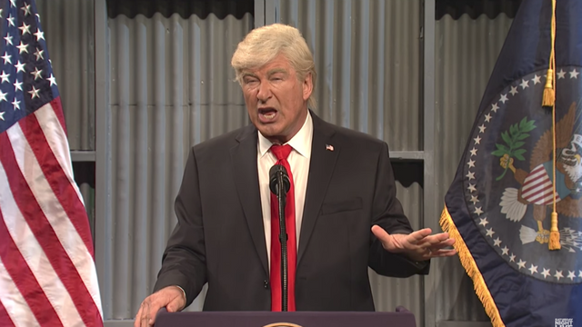 "Alec Baldwin on Trump attacking ""Saturday Night Live"": Does this qualify as a ""threat to my safety?"" http://hill.cm/kXh9Zgt"