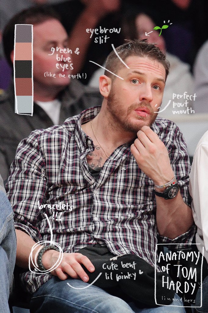 anatomy of tom hardy ー