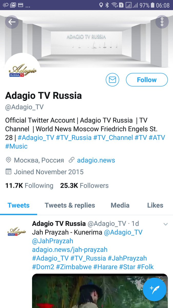 Adagio TV Russia on Twitter: