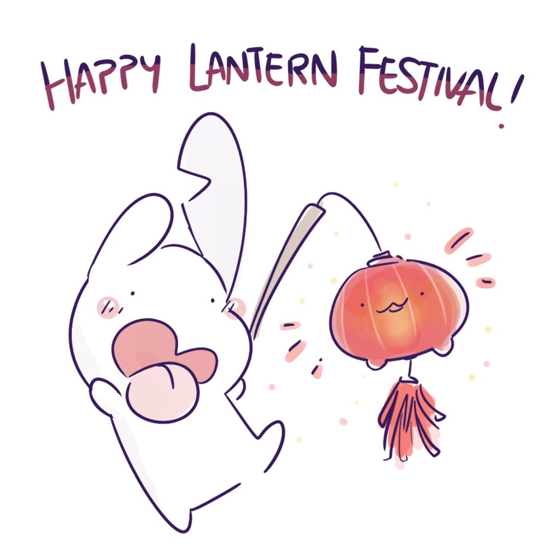 Happy Lantern Festival! Colourful lanterns look so pretty! ❤🏮✨  #yummiehero #lantern #lanternfestival #cny #memes #sketches #digitalillustration #digitalart #friendship #bunny #bff #dailyart #kawaii #fullmoon #tangyuan #元宵节