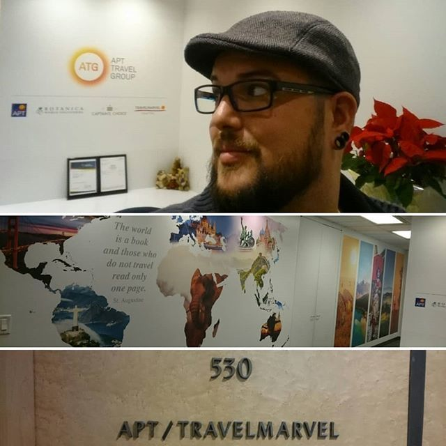 """Obligatory visit to work's international """"North America"""" office while I'm here. ✈🚢🌁🌎 #instagram http://bit.ly/2DVgx2p"""