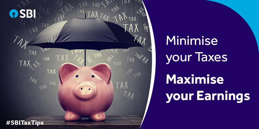 Your investments can save tax for you! Evaluate your financial goals to invest in tax saving instruments accordingly, to save taxes.  #SBI #StateBankofIndia #TaxSeason #EndofFY18 #TaxSavingSeason