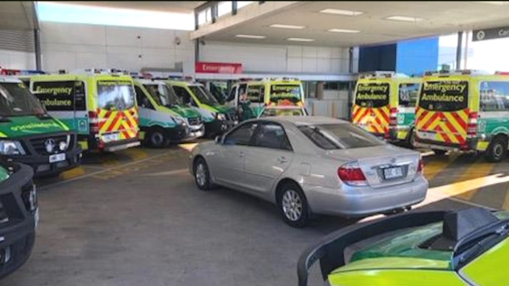 Ramping at Adelaide emergency departments has reached a new level - with one elderly patient forced to wait in the back of an ambulance for eight hours to be seen.   Full report coming up at 5pm.