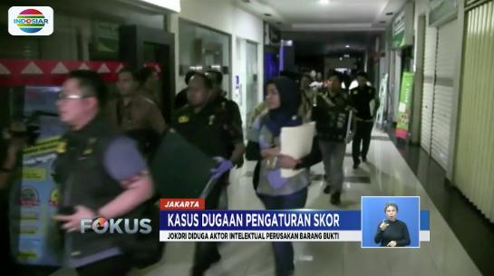 Joko Driyono diperiksa selama sekitar 20 jam, oleh penyidik Satgas Antimafia Bola Polda Metro Jaya terkait dugaan pengaturan skor sepak bola.  #FokusIndosiar