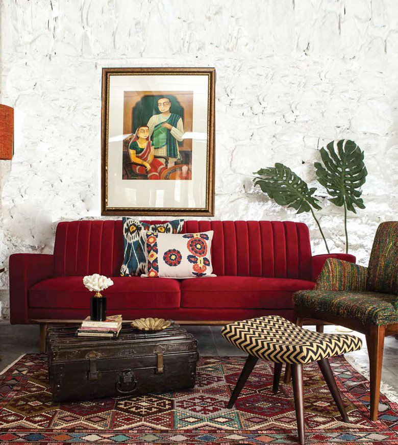 Almost any piece of furniture can turn into a style chameleon. Pick a distinct piece and make it fit in the decor style of your choice. #HomeDecor #InteriorDesign 📷 by Binisha Ajmera