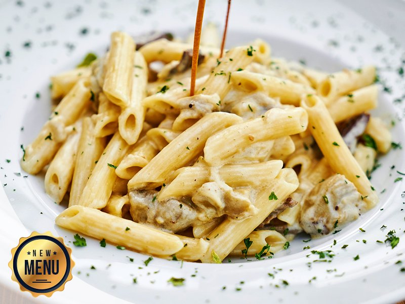 Craving for some creamy mushroom pasta at 2 AM? Don't worry, our all night, in room dining menu has got you covered! #FoodLove #FoodGoals #Yummy #Foodgram #Menu #NewMenu #Foodie #Foody #Foodstagram #FoodHeaven #Hotels #FourPointsbySheratonVadodara #Vadodara