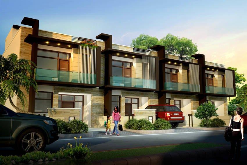 घर के सामने के हिस्से को खूबसूरत बनाने के 8 टिप्स #hometips #homedecor #decoration #exterior #homeonline #facadetreatment http://goo.gl/qxABm6