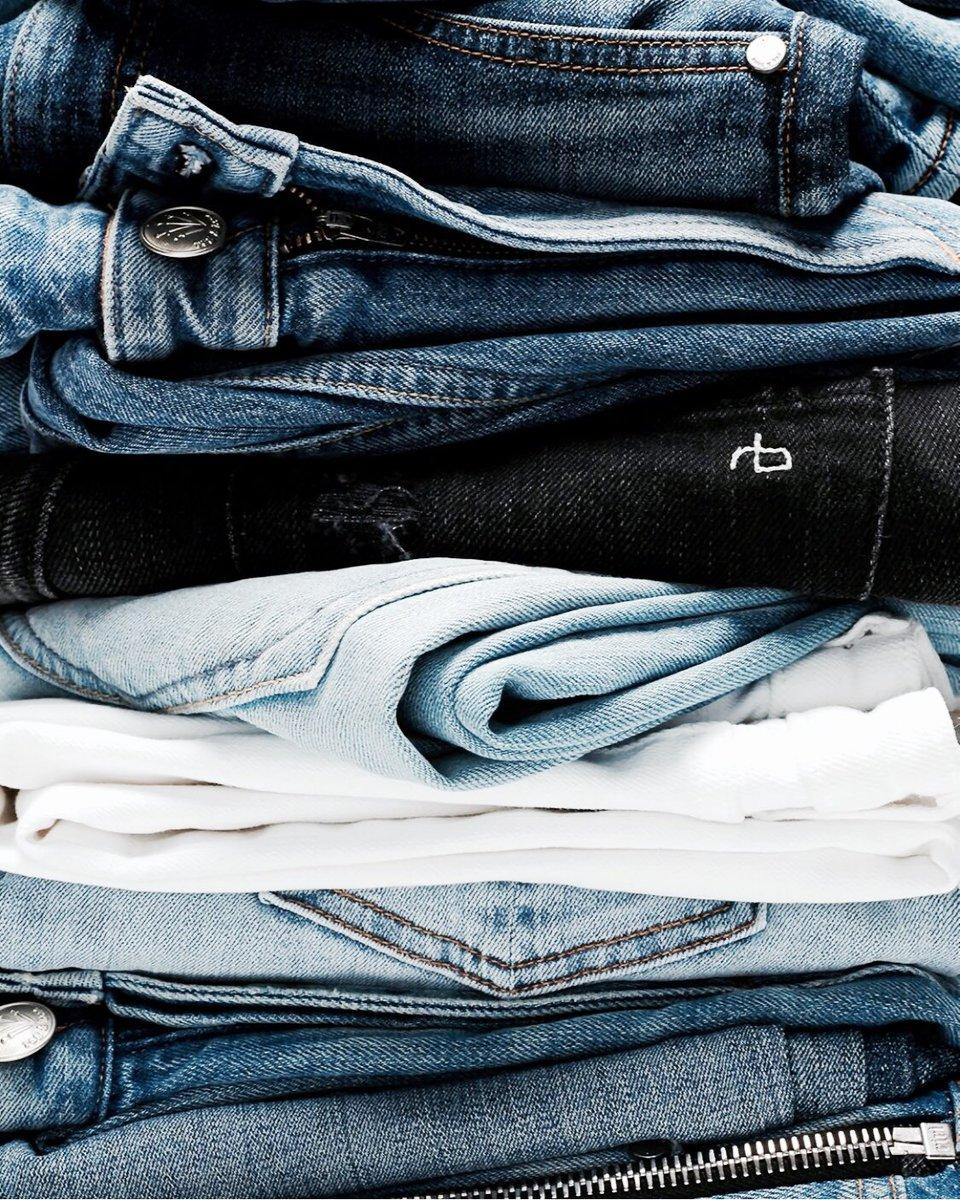Jeans jeans jeans 💙 #denim  photo c/o #ragandbone