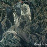 Image for the Tweet beginning: The giant Daguangbao landslide: superheated