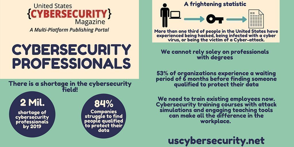 #CyberSecurity Expert Shortage [#infographic]   #MI #ML #AI #IoT #Marketing #DataScience #Startup #Fintech #DL #BigData #Tech #Technology #infographics #DataAnalytics #BusinessIntelligence #InternetOfThings #ai #cyberwar2019 #cyberattacks #cybercrime cc @mikequindazzi #BigData