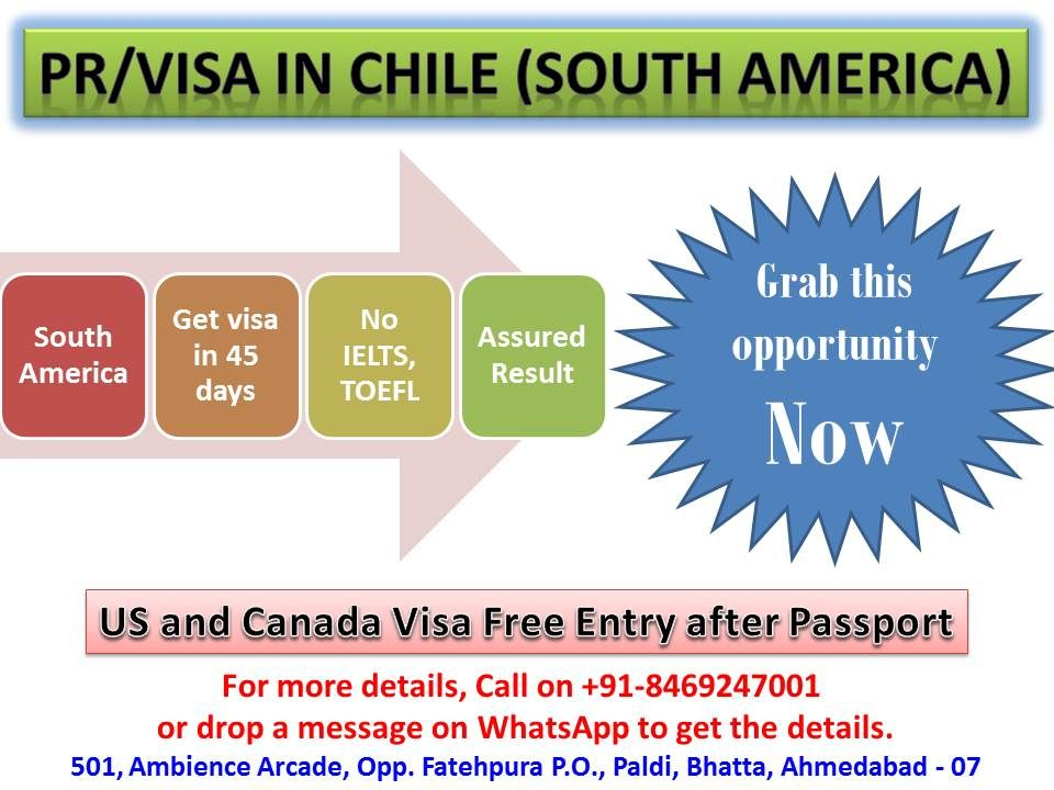 Free work permit under NAFTA agreement to Chile Citizens... #gateway to #Canada #visa #pr #immigration #chile #southamerica #workpermit #visaconsultant #NAFTA #ChileFreeTradeAgreement #freetradeagreement #Uruguay #Paraguay