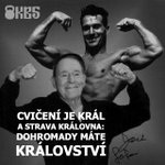 Image for the Tweet beginning: Cvičení i strava, s obojím