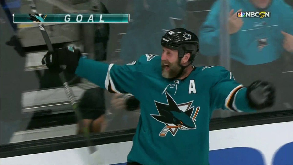 Sharks on NBCS's photo on joe thornton