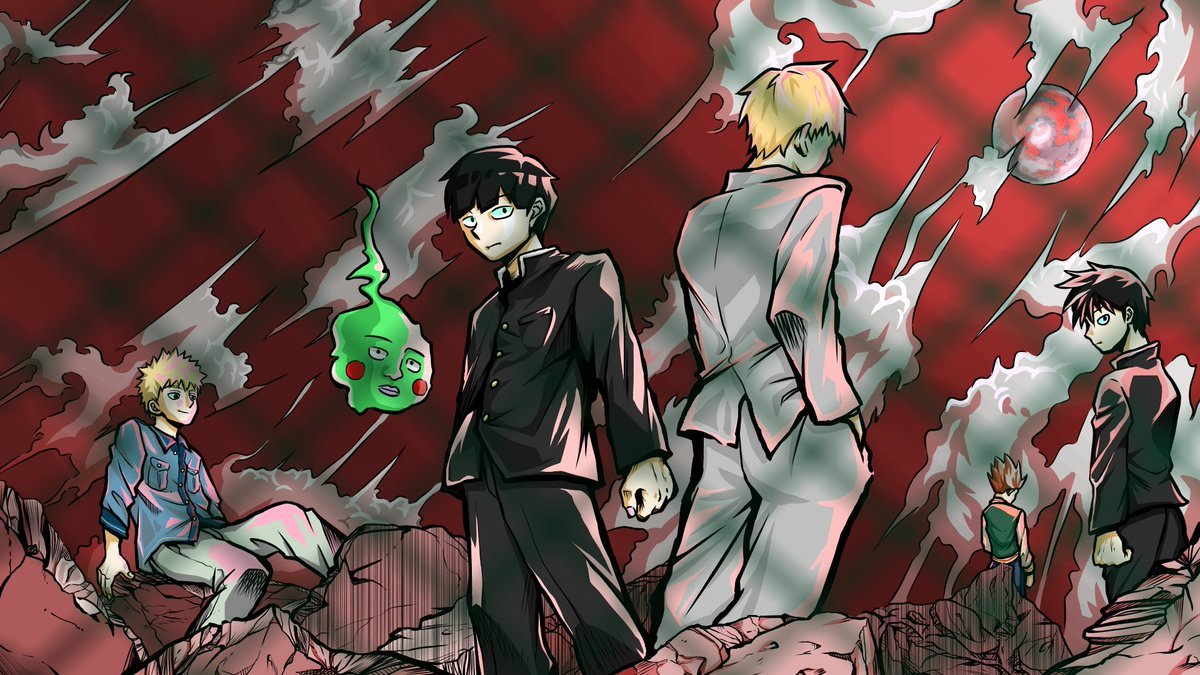 @mobpsycho_anime  #モブ_イラ所2 応募規約に同意した。