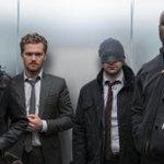 Image for the Tweet beginning: Marvel TV's superhero universe on