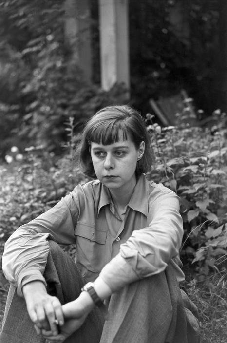 """Birthday today of novelist #CarsonMcCullers, born Lula Carson Smith in Columbus, GA (1917-1967), moving to #NYC at age 17. Known for writing about bizarre, twisted characters in novels such as """"The Heart is a Lonely Hunter"""" (1940), which was published when she was 23 years old."""