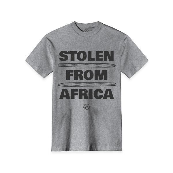 Men's Stolen From Africa Crew Neck - $28.00   #blacktwitter #BlackOwnedStores @calibakers http://blacktradelines.com/store/38/item/320/Men-s-Stolen-From-Africa-Crew-Neck…