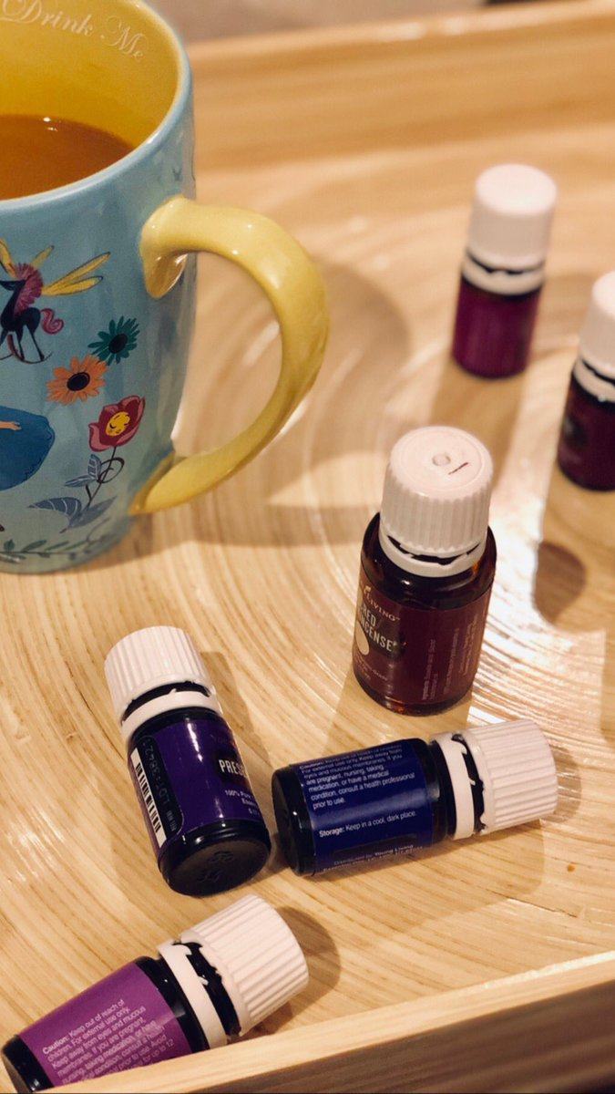 A.M. routine. Smelling in oils I'm drawn to 4the day, starts me off on right foot. Awakens 🧠 & body. ☕️ doesn't hurt, either. 😝 #essentialoils #coffee #pray #empath #love #nyc #healthylifestyle #encourage #spiritualawakening #inspire #motivation #momlife #mindset #beautiful