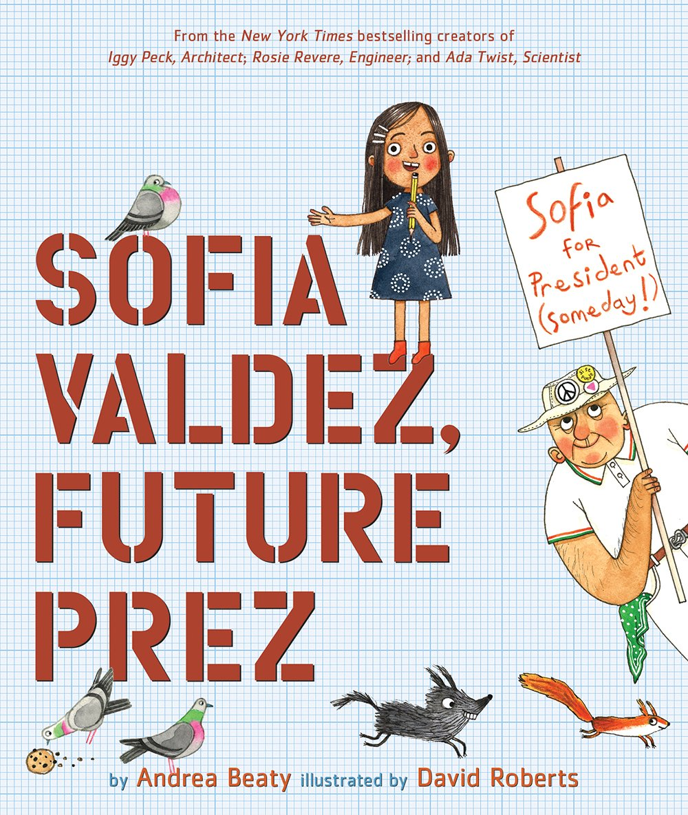 .@abramskids has announced that the next book in @andreabeaty and David Roberts' Questioneers series will be Sofia Valdez, Future Prez:  https://t.co/z4azbGjMjK