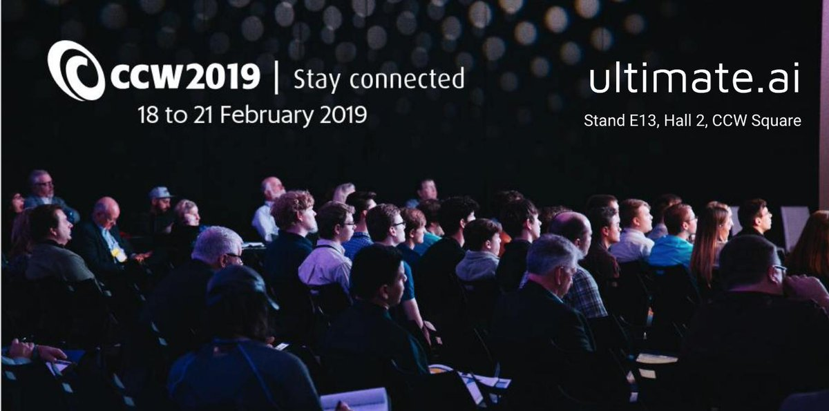 """Hear our CEO @rkainulainen speak today on """"Contact Centre AI: Augment Don't Replace"""" at 4.30pm in Hall 2 at #CCW2019! #AI  https://buff.ly/2BEMueO"""