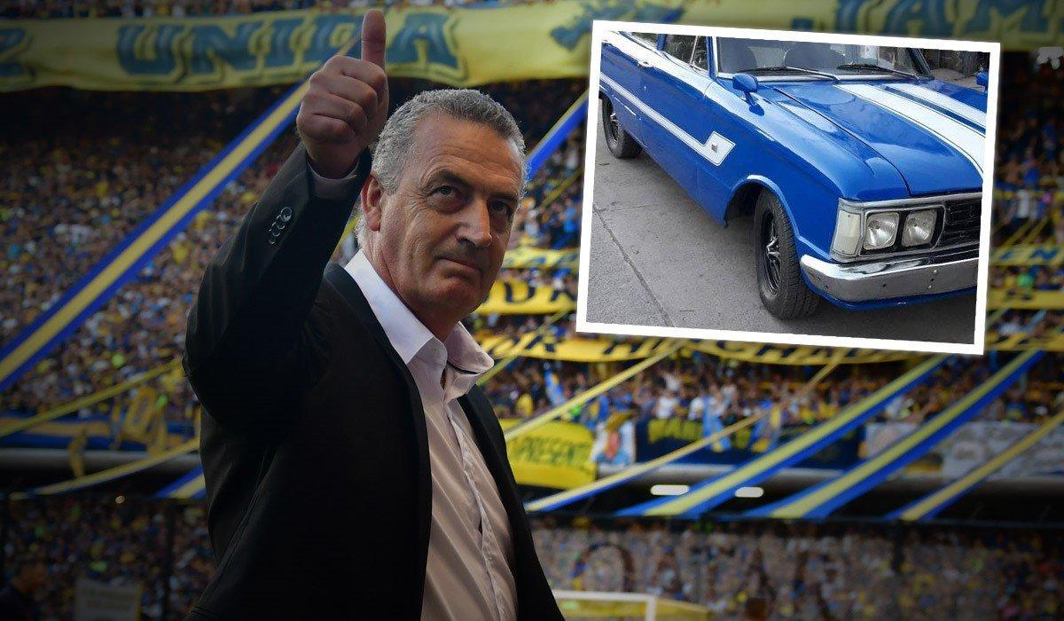 El auto con el que Alfaro comparó a su Boca 👀➡https://www.ole.com.ar/boca-juniors/gustavo-alfaro-boca-superilga-falcon_0_lNLfbgSpN.html…