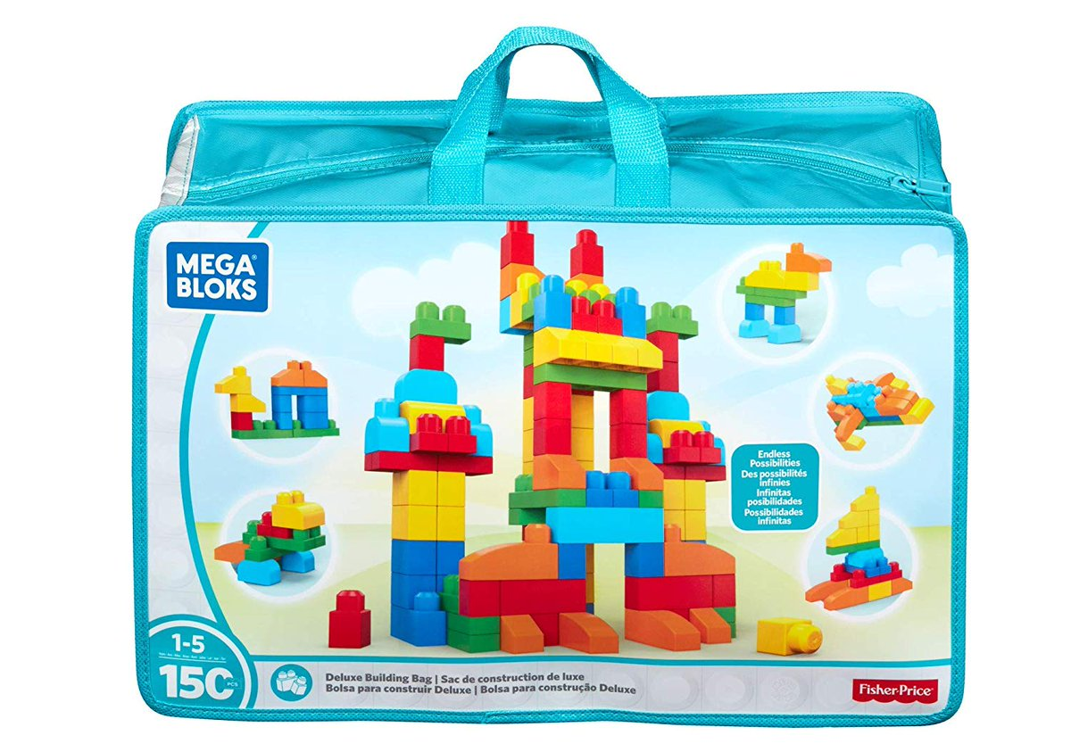 Mega Blocks Deluxe Building Bag http://www.knowellbuy.com/2019/01/best-building-blocks-for-3-to-6-year.html …  #knowellbuy #kids #love #play #learn #megablocks #buildingblocks #toysfortots